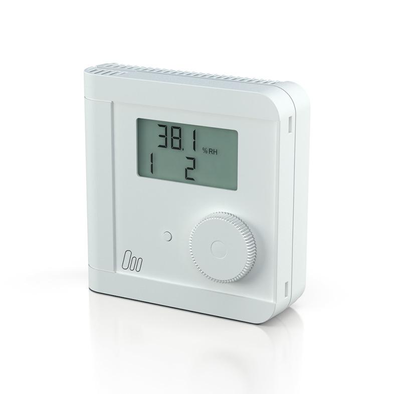 Elektronischer Raum Hygro-Thermostat mit je 1 Schaltausgang für ...