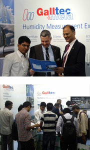 Galltec+Mela present themselves at the ACREX in Indien