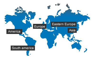 Humidity World Map.Sensors For Humidity And Temperature Humidity Measurement Galltec